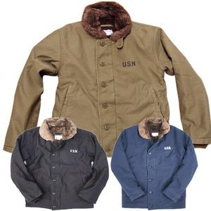 アメリカ軍 N-1 デッキジャケット 【 32/XSサイズ 】 JJ105YN ネイビー 【 レプリカ 】
