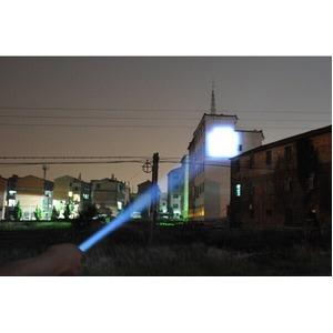 ズーム機能搭載 LEDフラッシュ ライトGZ98504画像5