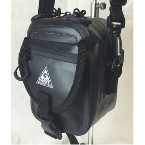 GERRY 超軽量防水スマフォ デジカメ入れに便利ミニショルダー & ウェストポーチ バッグ GE8002 ブラック h01