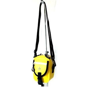 GERRY 超軽量防水スマフォ デジカメ入れに便利ミニショルダー & ウェストポーチ バッグ GE8002 イエロー h02