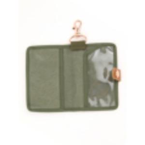 江戸の粋な匠が丁寧に仕上げた江戸帆布パスケース 日本製 eh-010 カーキ h03