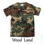 カモフラージュ Tシャツ( 迷彩 Tシャツ) JT048YN ウッドランド Mサイズ