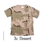 カモフラージュ Tシャツ( 迷彩 Tシャツ) JT048YN 3カラーデザート Mサイズ