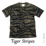 カモフラージュ Tシャツ( 迷彩 Tシャツ) JT048YN タイガー Lサイズ