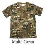 カモフラージュ Tシャツ( 迷彩 Tシャツ) JT048YN マルチ Sサイズ