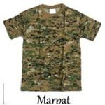カモフラージュ Tシャツ( 迷彩 Tシャツ) JT048YN MARPAT Sサイズ