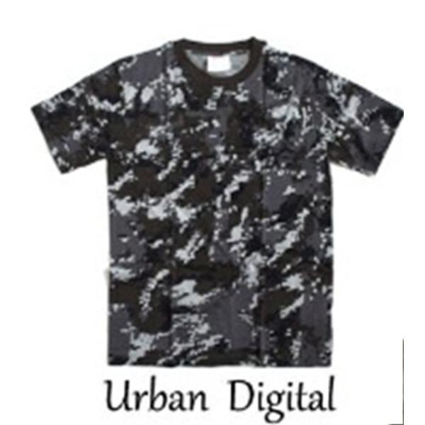 カモフラージュ Tシャツ( 迷彩 Tシャツ) JT048YN アーバンデジタル XLサイズf00