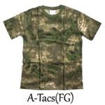 カモフラージュ Tシャツ( 迷彩 Tシャツ) JT048YN A-TAC S(FG) Sサイズ