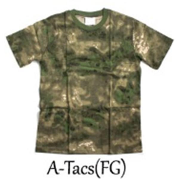 カモフラージュ Tシャツ( 迷彩 Tシャツ) JT048YN A-TAC S(FG) Lサイズf00
