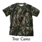 カモフラージュ Tシャツ( 迷彩 Tシャツ) JT048YN ツリー カモ Sサイズ