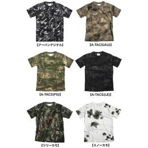 カモフラージュ Tシャツ( 迷彩 Tシャツ) JT048YN BWスノー カモ Mサイズ h02