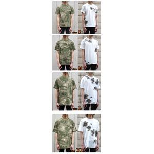 カモフラージュ Tシャツ( 迷彩 Tシャツ) JT048YN BWスノー カモ Lサイズ f04