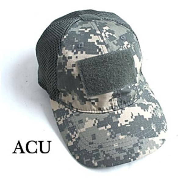 吸汗速乾 米軍 タイプタクティカル最新鋭 カモメッシュキャップ( 迷彩帽子) HC044YN ACU(UCP)  レプリカ