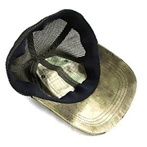 吸汗速乾 米軍 タイプタクティカル最新鋭 カモメッシュキャップ( 迷彩帽子) HC044YN A-TAC S(AU) 【 レプリカ 】