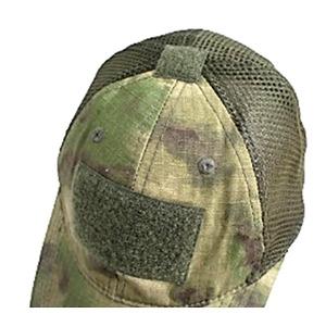 吸汗速乾 米軍 タイプタクティカル最新鋭 カモメッシュキャップ( 迷彩帽子) HC044YN A-TAC S(FG) 【 レプリカ 】