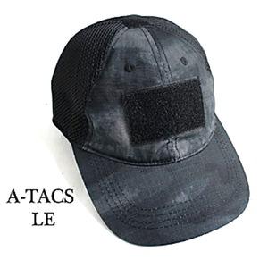 吸汗速乾米軍タイプタクティカル最新鋭カモメッシュキャップ(迷彩帽子)HC044YNA-TACS(LE)【レプリカ】