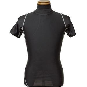 【 2枚セット 】 アメリカ軍 タクティカルトレーニングアンダーシャツ 【 半袖/L 】 JT047YN ブラック & ウッドランド 【 レプリカ 】