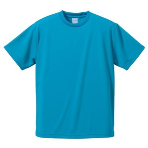 UVカット吸汗速乾ドライ Tシャツ CB5900 ターコイズ ブルー S 【 5枚セット 】