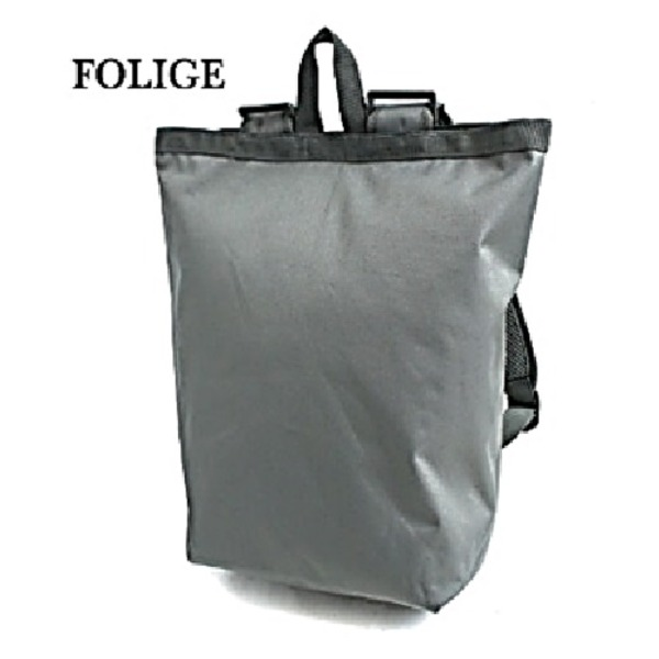 水に強い防水加工 布使用リュックサックなるトートバッグ BR066YN フォリッジf00