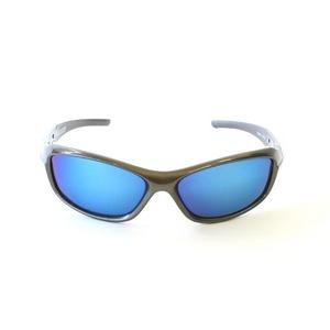 ROTHCO(ロスコ) ポリカーボネイト製サングラス RK4356 ガンメタ/ミラー ブルー画像2