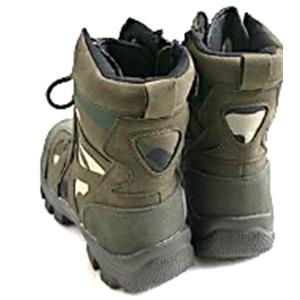 """米軍特殊部隊""""CONQUEROR""""モデル サイドジッパブーツ FB049YN ウッドランド 9W(27cm)"""