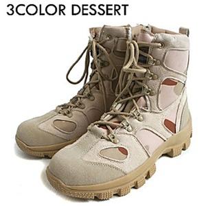 """米軍特殊部隊""""CONQUEROR""""モデル サイドジッパブーツ FB049YN 3カラーデザート 8W(26cm)"""