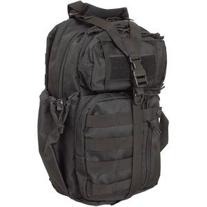 水に強い防水加工 布使用 米軍 ワンショルダーバッグ B S139YN ブラック 【 レプリカ 】  - 拡大画像