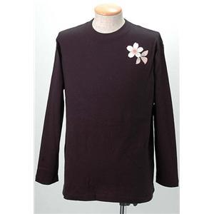 語れる立体和柄ロングTシャツ S-1966/桜百鬼夜行 M