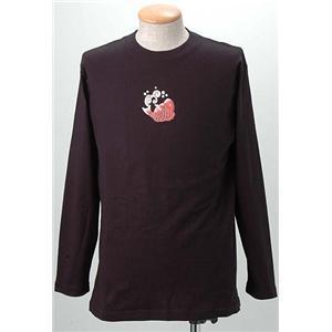 語れる立体和柄ロングTシャツ S-1542/鶴亀鯛 LL