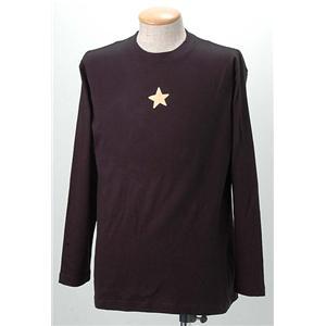 語れる立体和柄ロングTシャツ S-1469/ガンマン雷神 LL h01