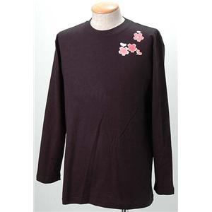 語れる立体和柄ロングTシャツ S-1998/弁財天 L h01
