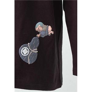 語れる立体和柄ロングTシャツ S-1979/瓢箪とっくり M h02