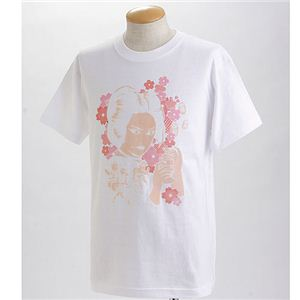 むかしむかし×マカロニほうれん荘 Tシャツ S-2668 【御用ほうれん荘】 L ホワイト - 拡大画像