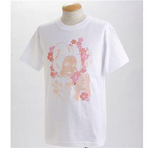 むかしむかし×マカロニほうれん荘 Tシャツ S-2668 【御用ほうれん荘】 LL ホワイト