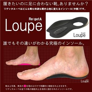 Re:getA Loupe(リゲッタ ルーペ) レディース - 拡大画像