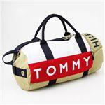 TOMMY HILFIGER(トミーヒルフィガー) ボストンバッグ L500039-261 カーキー/ネイビー