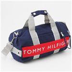 TOMMY HILFIGER(トミーヒルフィガー) ミニダッフルバッグ L500079 Navy/Red