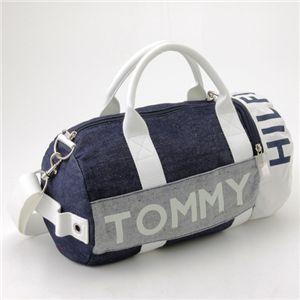 TOMMY HILFIGER(トミーフィルフィガー) デニム ミニボストン MINI DUFFLE L200176 462