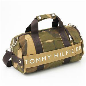 TOMMY HILFIGER(トミー・フィルフィガ―) 迷彩柄 ミニボストンバッグ cam