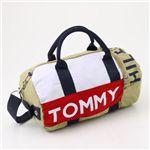 TOMMY HILFIGER(トミーフィルフィガー) ミニダッフルバッグ Mini Duffle I 261・Khaki