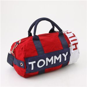 TOMMY HILFIGER(トミーフィルフィガー) ミニボストン HARBOUR POINT I 607・Red×Combo