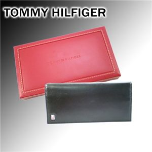 TOMMY HILFIGER(トミーヒルフィガー) OXFORD シンプル長財布 TM5058 ブラック