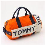 TOMMY HILFIGER(トミーヒルフィガ―)Mini Duffle ミニボストンバッグ L200175-815 Orange