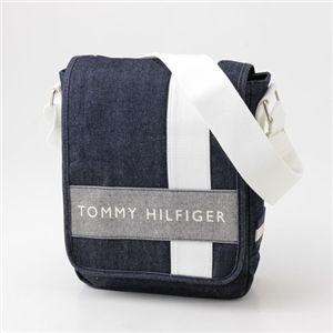 TOMMY HILFIGER(トミーヒルフィガ—) ななめがけ ショルダー  462・Denim