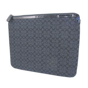 COACH(コーチ) シグネチャー・アップリケ タブレットスリーブケース F61035 SLCBK