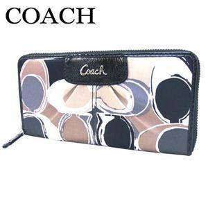 COACH(コーチ) ジップアラウンド 長財布 マルチカラー F46330 SV/MC - 拡大画像