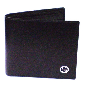 GUCCI(グッチ) 二つ折財布 ブラック 115219A490N1000 - 拡大画像