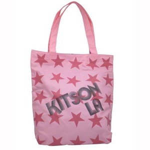 KITSON(キットソン) SUPER STAR トートバッグ 3641/PINK - 拡大画像
