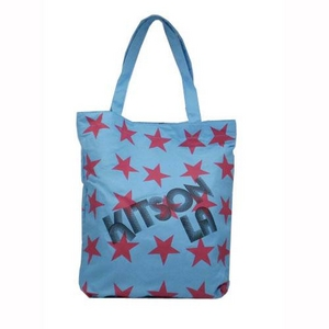 KITSON(キットソン) SUPER STAR トートバッグ 3642/LIGHT BLUE - 拡大画像