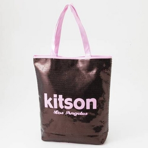 KITSON(キットソン) スパンコール トートバッグ 003602・Copper×Pink - 拡大画像